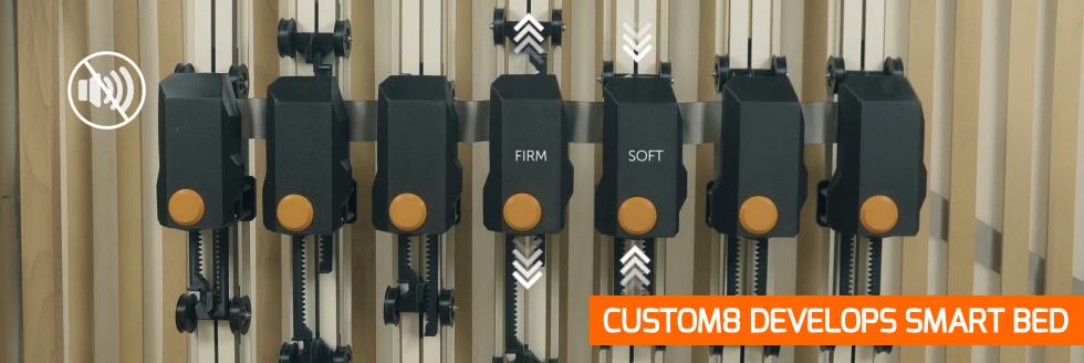 visual Custom8 develops smart bed